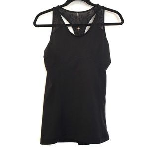 [CALIA] NWT ruched racerback work out tank top S